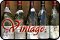 Southern Rhone Valley wines vintage table